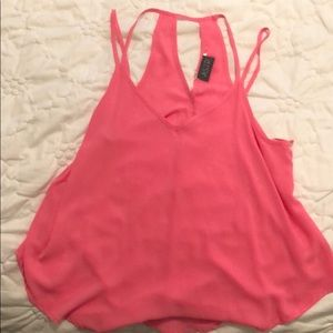 Pink tank top from Nordstrom